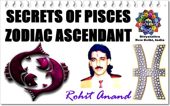 pisces sun pisces rising, scorpio sun pisces rising, Meena lagna, zodaic sign vedic astrology