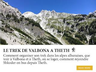 Le trek de Valbona à Theth, au nord de l'Albanie