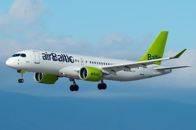 airBaltic CS300 BCS3 Airbus A220-300