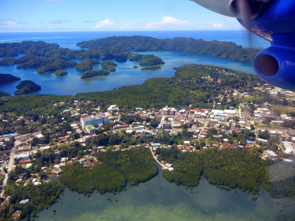 Tours Islands Palau Rock
