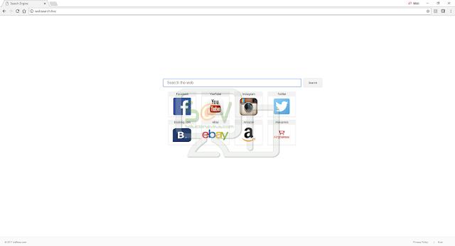 Websearch.live (Hijacker)
