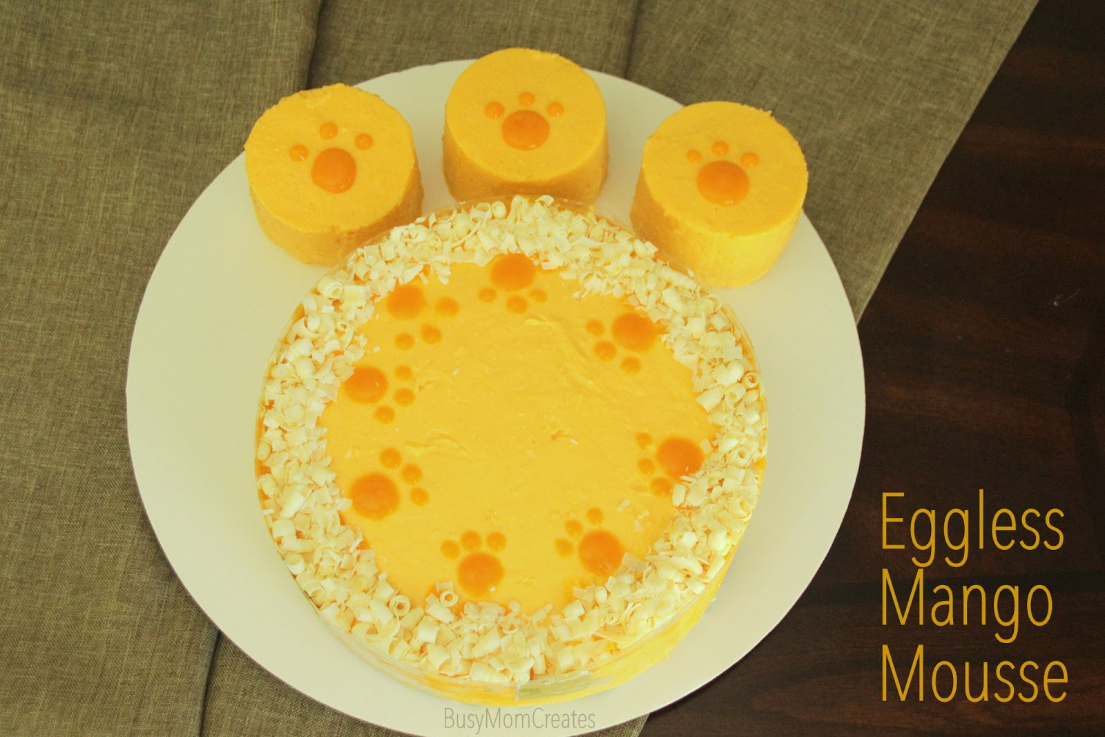 mango mousse cake eggless mango mousse cake creature power theme 5692