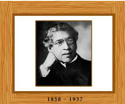 Jagdish Chandra Bose Real Pic