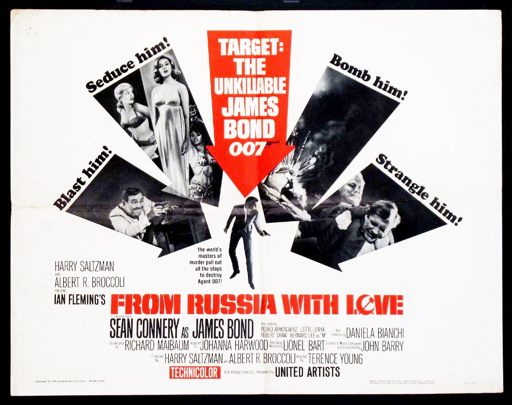 Cue By Cue Film Music Narratives From Russia With Love Barry 1963