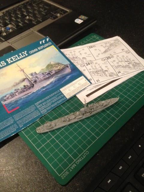 Geordie's Big Battles: RN J-K Class Destroyer: HMS Kipling