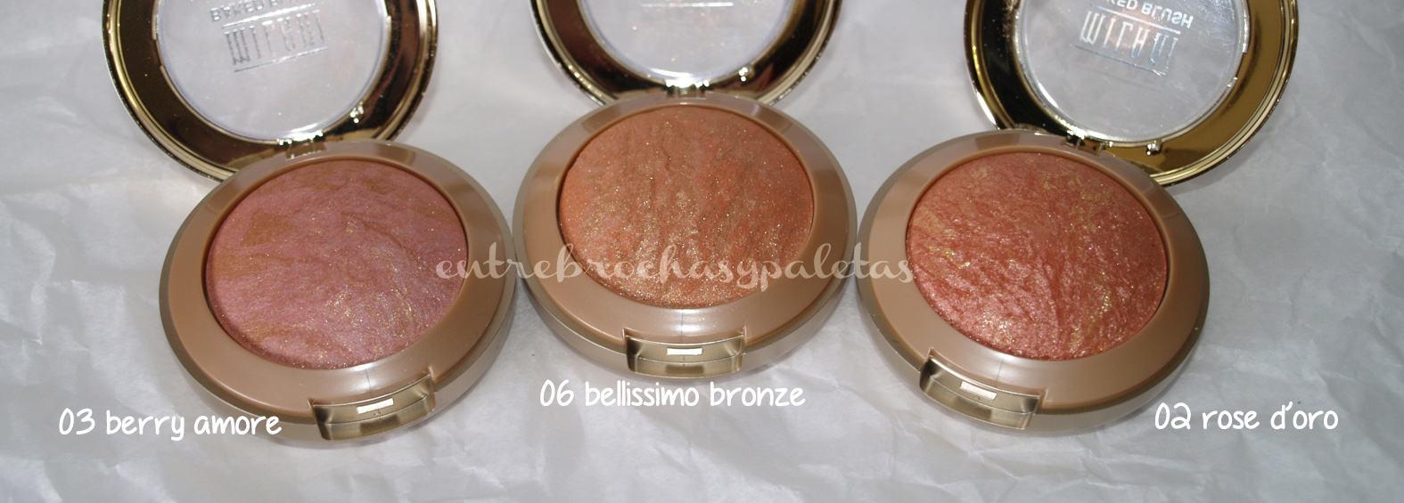 baked blush coloretes milani