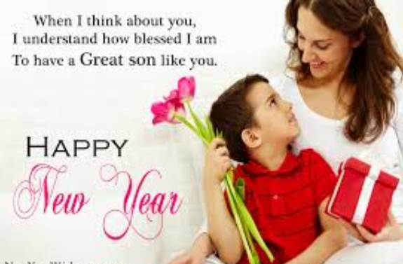 Happy New Year 2018 Messages, Wishes for Son