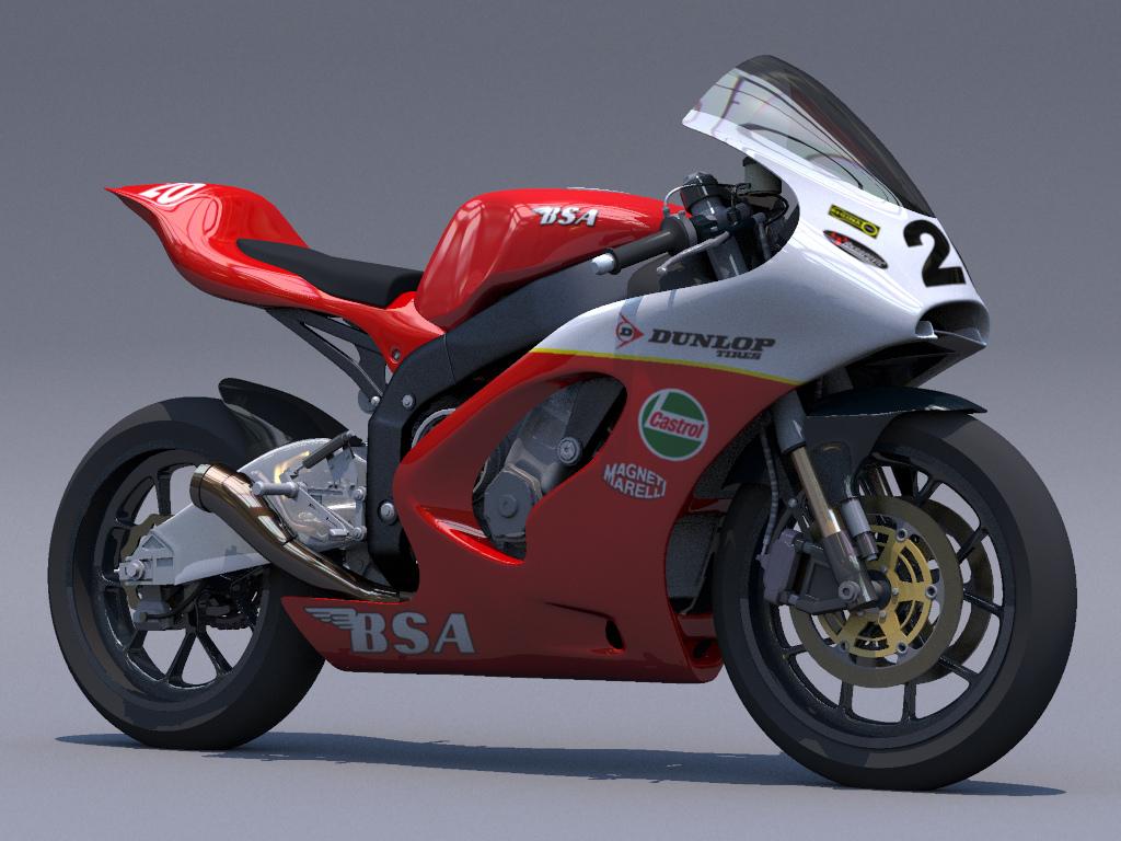 Racing Cafè: Racing Concepts  BSA Rocket 3