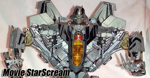 Transformers - Revenge of the Fallen Starscream bemutató