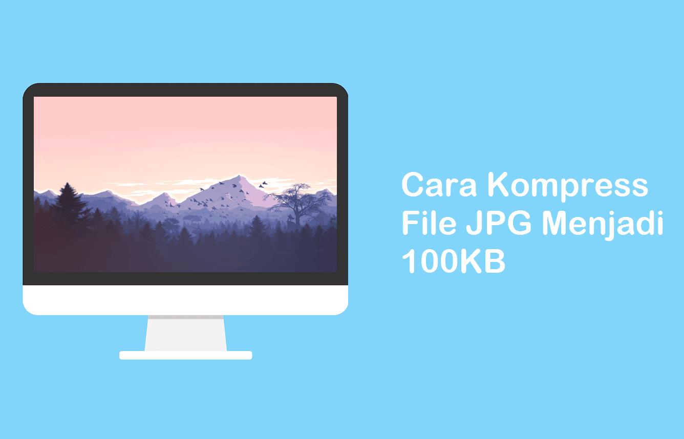 Cara Mengecilkan ukuran file JPG