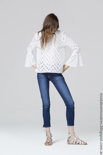 Blusas verano 2017 ropa de mujer ropa de moda 2017.