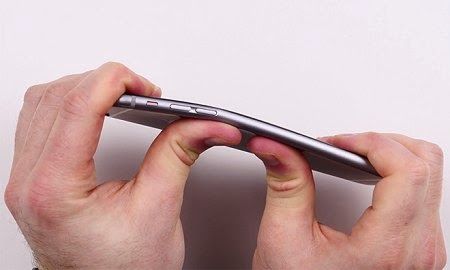 iPhone 6 Plus can be bent?