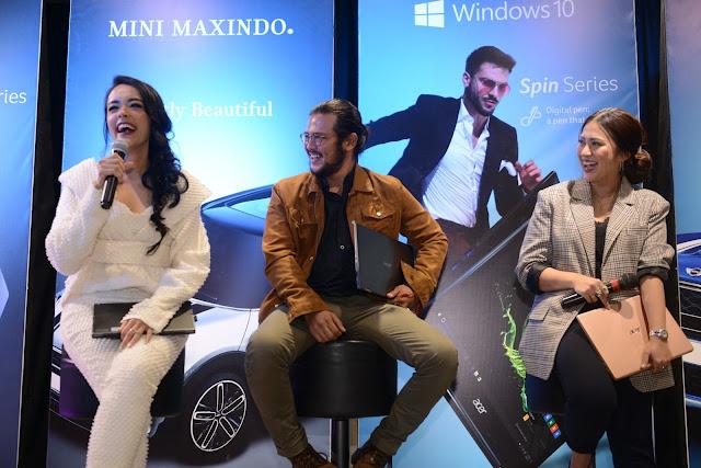 Kolaborasi Acer X MINI MAXINDO #PassionToWin