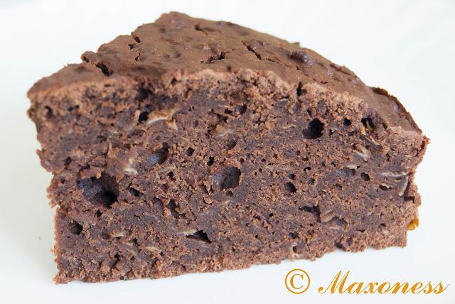 Кекс какао-цукини