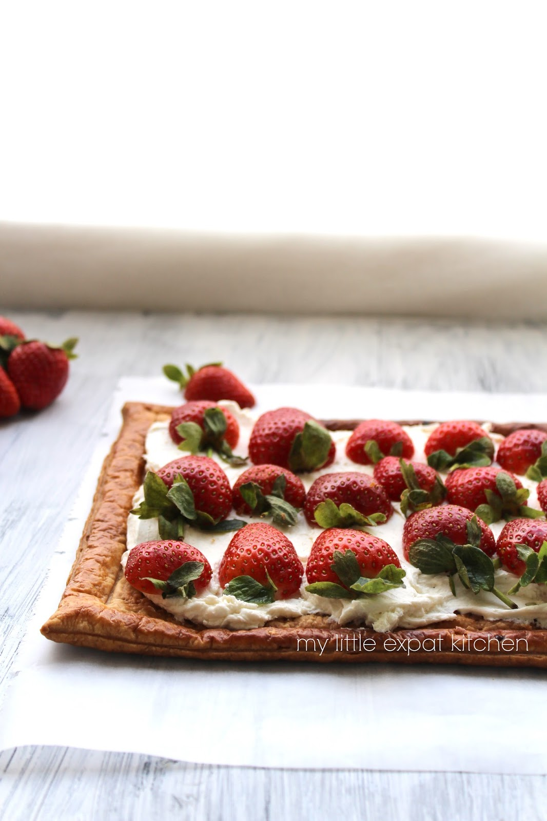 how to make a puff pastry tart