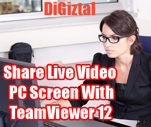 share live streaming video of computer screen