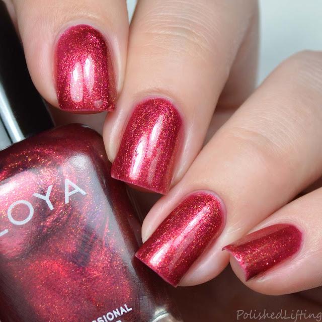 copper rose metallic nail polish