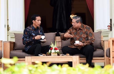 Presiden Bertemu SBY, PDIP: Itu Bukti Jokowi Kedepankan Musyawarah