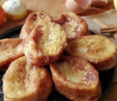 torrijas de leche tradicionales