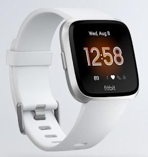 Fitbit Versa Argent/Blanc