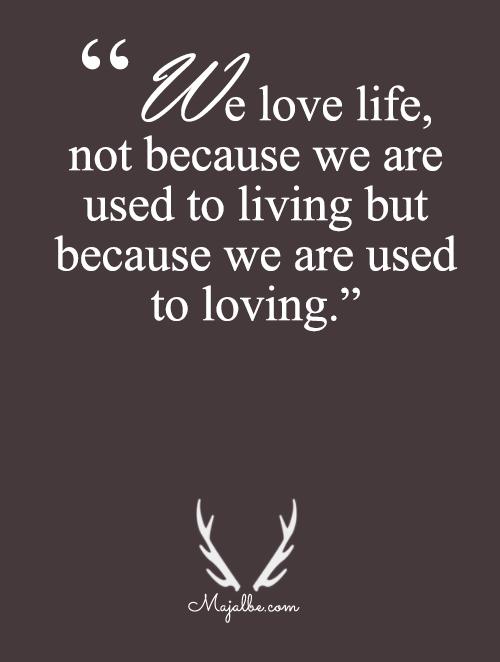 Living Is Loving