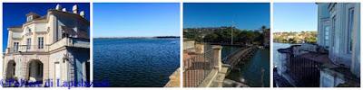 particolari del lago fusaro dove si può apprezzare il panorama