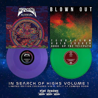 Comacozer/Blown Out split ''In Search of Highs Vol.1''