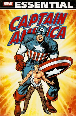 Essential Captain America Volume 1, cover