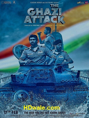 The Ghazi Attack Movie Download Hindi (2017) HD 720p DVDRip
