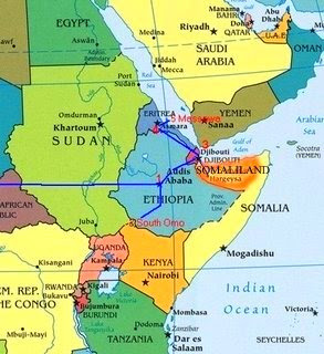 Map Of Africa Equator.The Horn Of Africa Map Map Of Africa