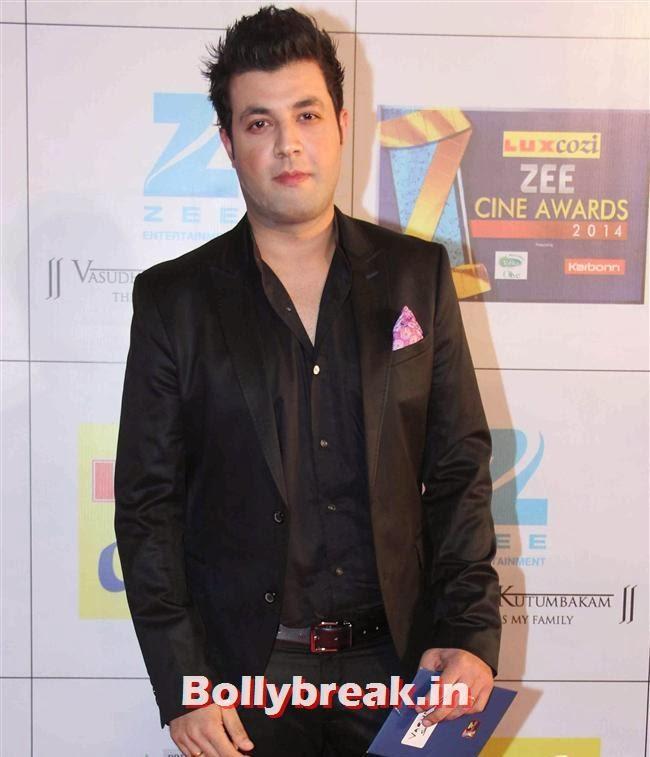 Varun Sharma, Zee Cine Awards 2014 Red Carpet Pics