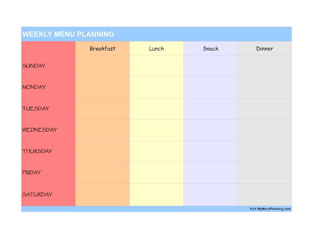 Menu Makanan Untuk Diet Menurunkan Berat Badan (Rendah Kalori dan Tanpa Nasi Putih)