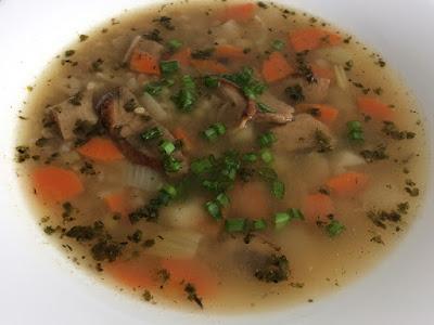 Zdrowa zupa z kaszy jęczmiennej
