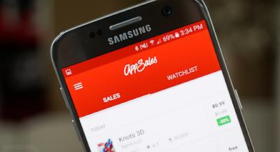 تطبيق AppSales لمعرفة أسعار التطبيقات المدفوعة ومتى تصبح مجانية على كوكل بلي,  تطبيق AppSales لمعرفة أسعار التطبيقات المدفوعة ومتى تصبح مجانية, تطبيق AppSales لتحميل التطبيقات المدفوعه مجانا بشكل قانوني, تابع جميع التخفيضات والعروض الخاصة في متجر جوجل بلاي