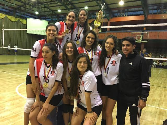 usfq campeonas nacionales voley interuniversidades 2017