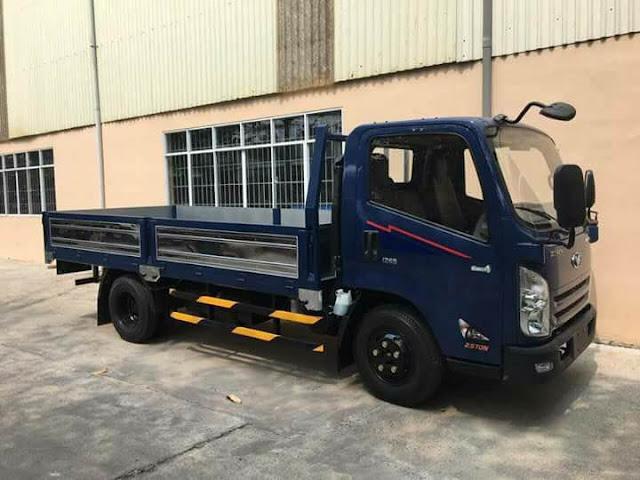 Xe tải 2.5 tấn Đô Thành IZ65 thùng lửng