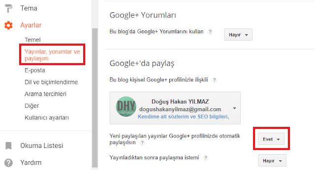 google-plus-otomatik-paylaşım