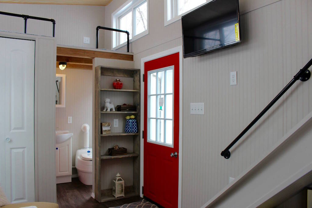 8 Staycation Worthy Tiny Homes For Sale: TINY HOUSE TOWN: The Mini Mansion Relax Shack (273 Sq Ft