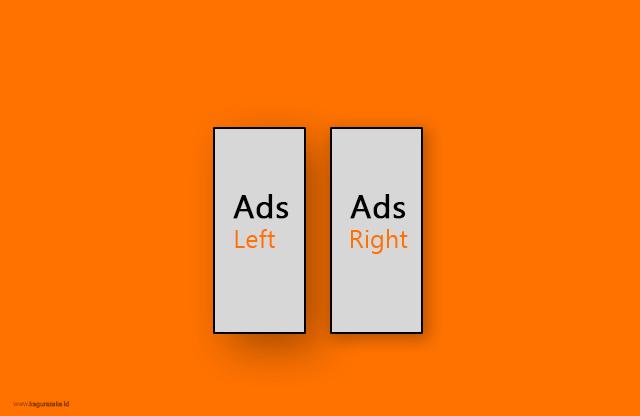 Cara Membuat Banner Slot Iklan Melayang di Blogger