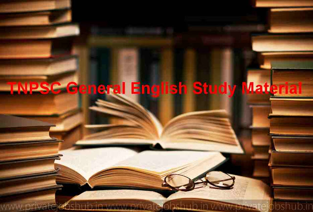 TNPSC General English Study Material