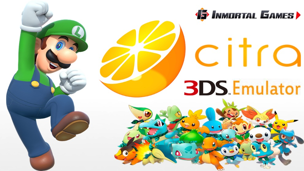 Nuevo¡ Citra Hack Rendered Complement - 3DS Emulator - Inmortal games