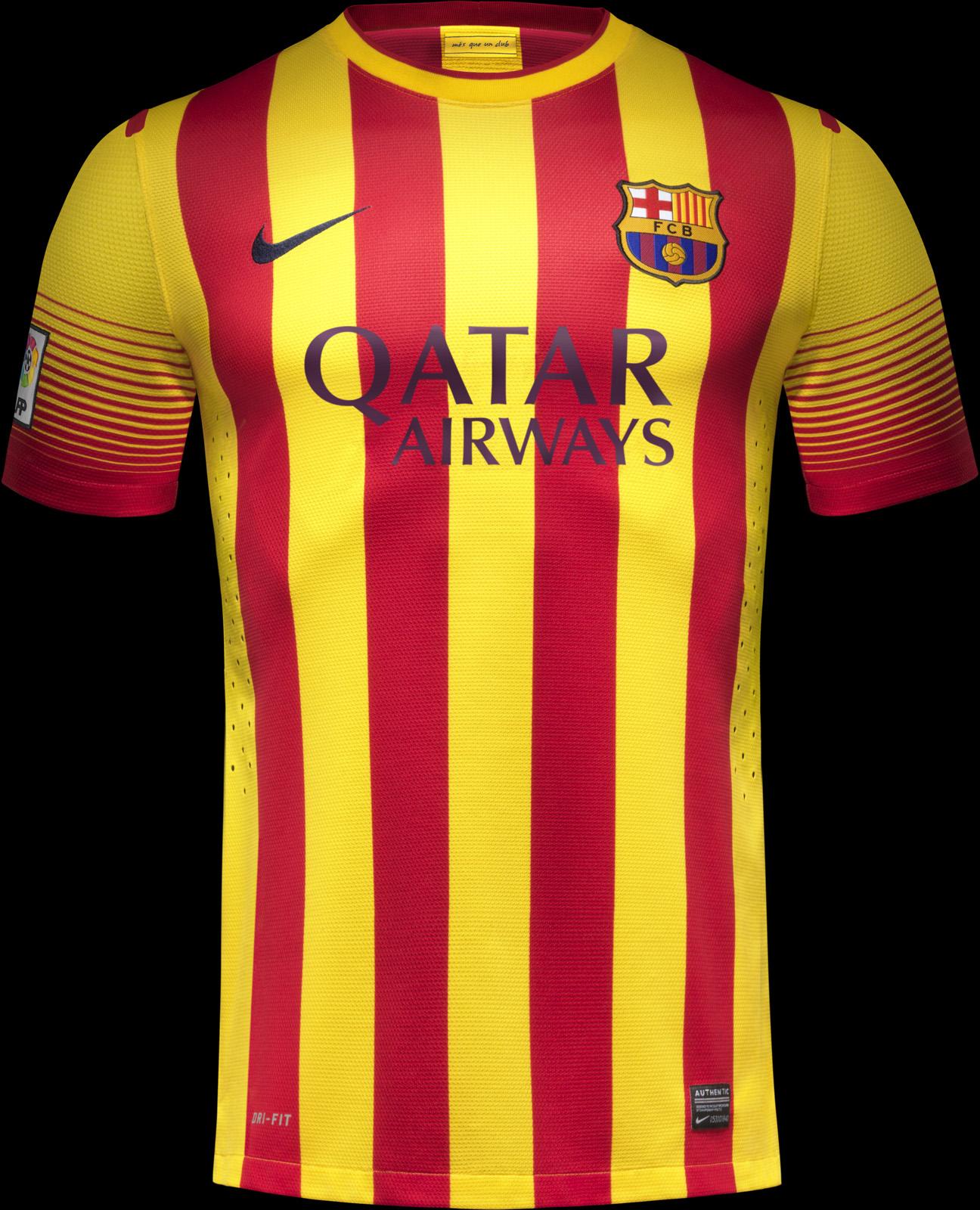 Fc barcelona 13 14 home away kits released third kit - New home barcelona ...