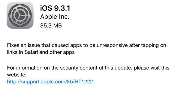 A rapidez da Apple em disponibilizar uma nova versão do sistema, sem  dúvida, amenizará as reclamações dos usuários de iPads e iPhones. e71b901798