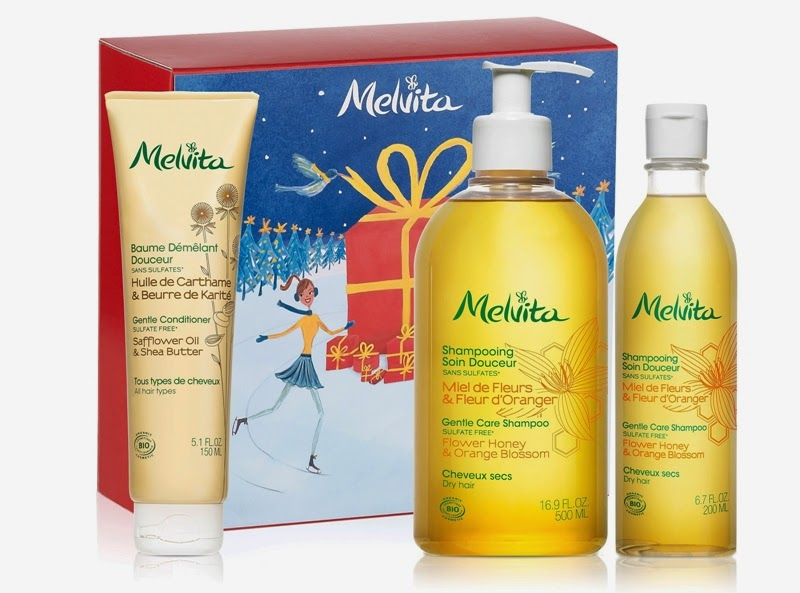 Best of Haircare, Gentle Care Shampoo, Gentle Conditioner, Melvita Christmas Gift Sets, Melvita, Melvita Malaysia, Christmas Set, Christmas Gift