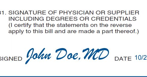 BOX 31 to BOX 33 - Detailed review | CMS 1500 claim form and UB 04 Sample Pqrs Billing Hcfa Form Example on hipaa billing form, cms billing form, medicare billing form, ub04 billing form, ub billing form, medicaid billing form, ubo billing form, cpt billing form,