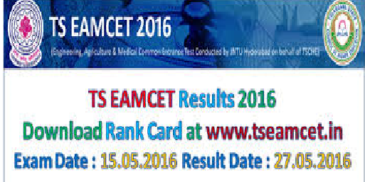 TS EAMCET Results 2016 Marks & Rank - Telangana State|tseamcet.inTS EAMCET Results 2016,TS EAMCET 2016 Rank Cards download, Telangana EAMCET 2016 Results,Telangana EAMCET 2016 Rank Cards,TS EAMCET 2016 Engineering Results, TS EAMCET 2016 Agriculture Results and TS EAMCET 2016 2016/05/ts-eamcet-2016-rank-cards-results-download.html
