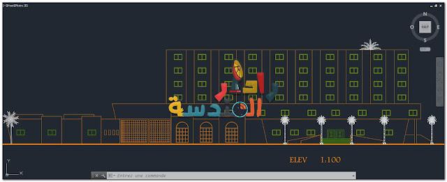 تحميل ملف أوتوكاد لــ كتل 3D من المستشفيات dwg