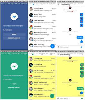 Messenger Lite Mod Multi v4.1 Apk Terbaru Gratis - Chat Fb Cepat dan Ringan di Android