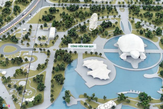 Phối cảnh công viên Kim Quy Eurowindow Riverpark