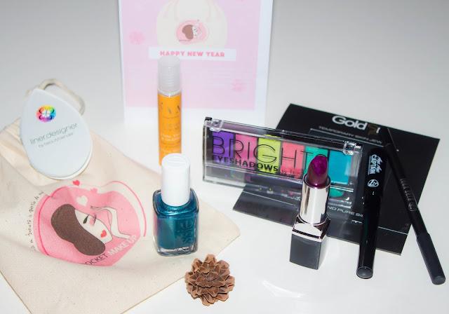 L'année commence très bien avec la box My Pocket Make-Up 💕